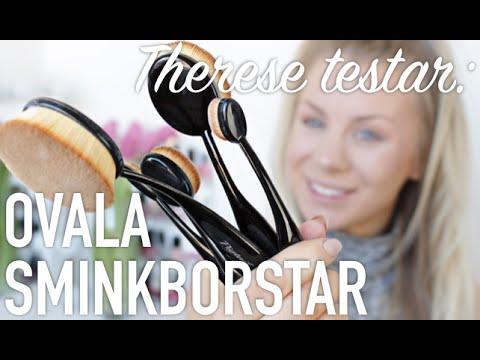 Therese Testar: OVALA SMINKBORSTAR (i samarbete med Fyndiq)