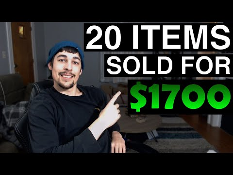 These 20 Items SOLD On eBay For $1700! - What Sold On eBay