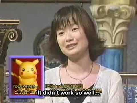 Pikachus voice actor (english subtitles)