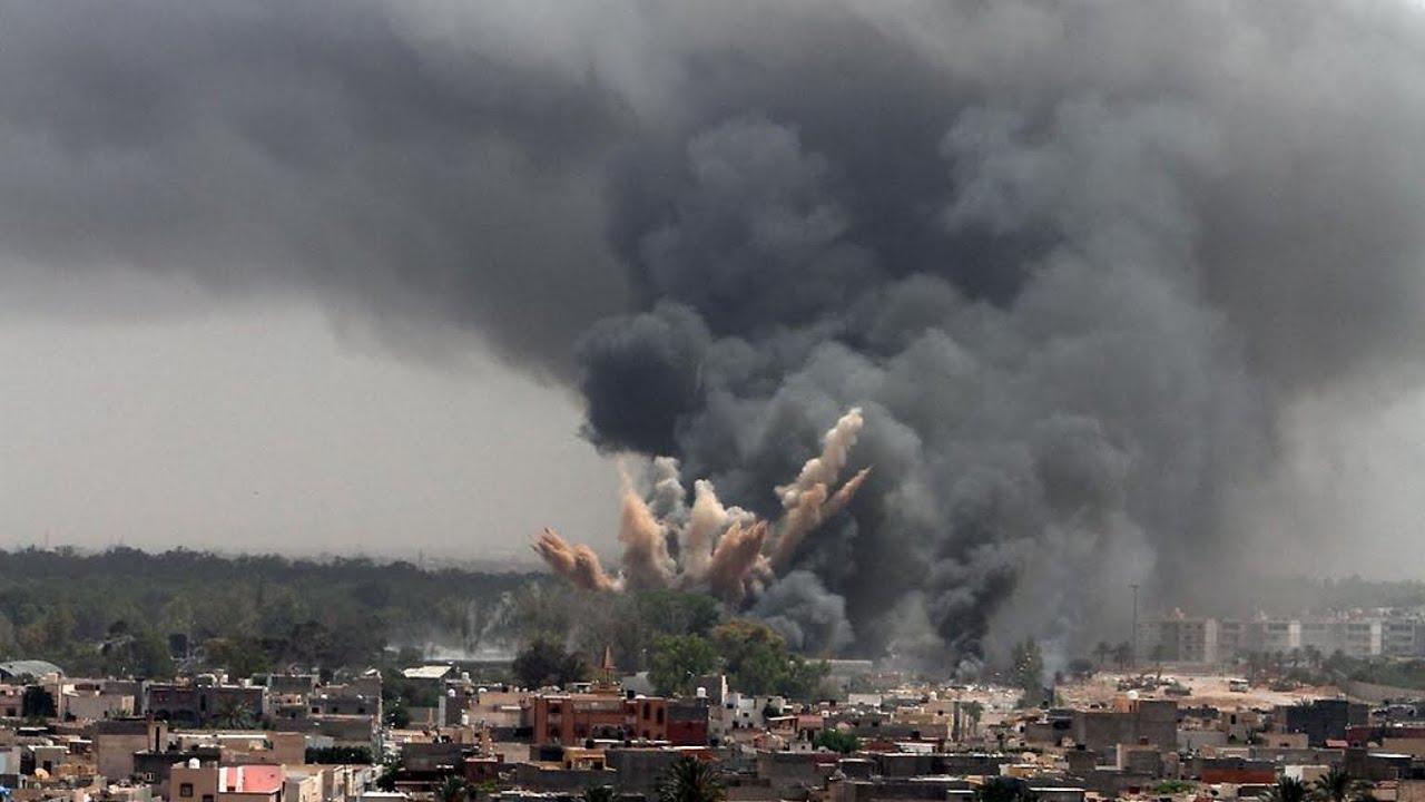 Yemen War Rocket Attacks And Saudi Arabian Air Strikes