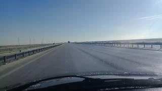 Автобан Астана - Боровое. 04.12.2016г.