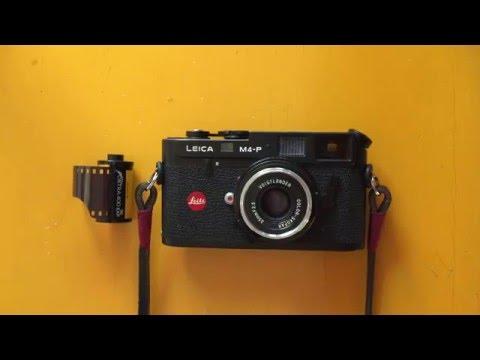Loading a Leica M4-P