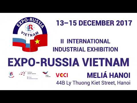 A part of II International Industrial      EXPO RUSSIA VIETNAM 1