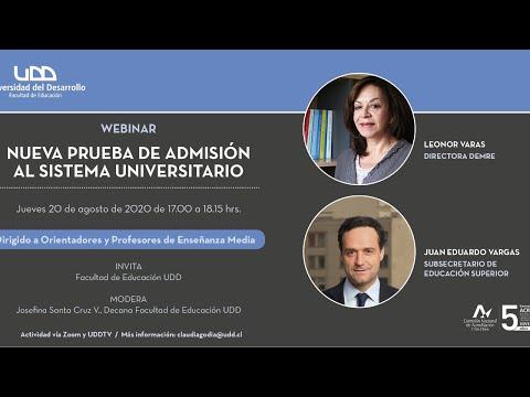 Charla: Nueva Prueba de admisión al sistema universitario