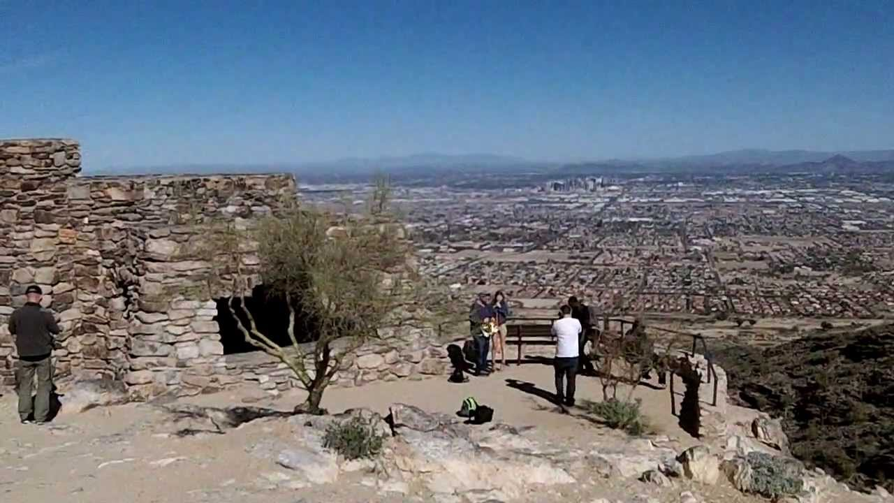 how to get to top of south mountain