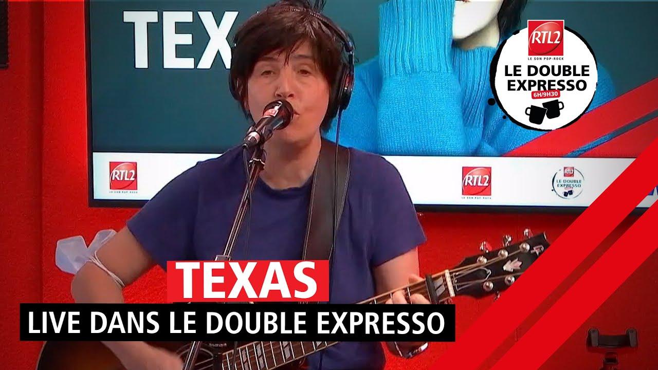 """Texas interprète """"Hi"""" en live dans Le Double Expresso RTL2 (18/06/21)"""