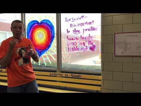 Mr. Peace Visits Pulaski Road School In East Northport, New York