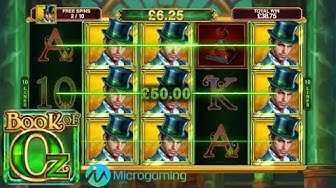 Book of Oz Online Slot from Microgaming