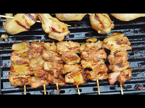 Recipe: Grilled Chicken Skewers | Gai Ping | Lao Food