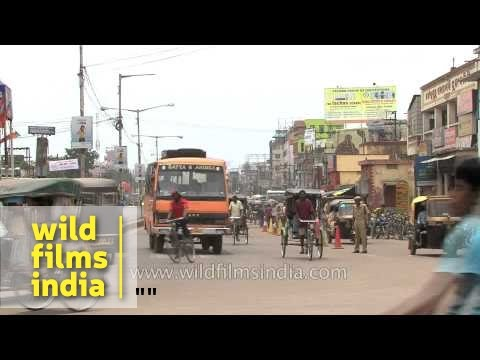 Vehicular traffic in Cuttack city