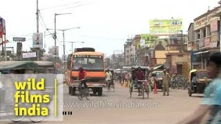 Vehicular traffic in Cuttack city
