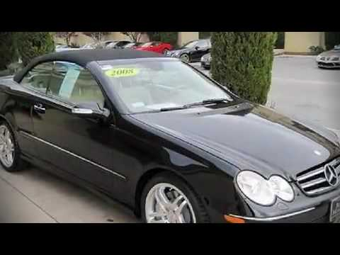 2008 mercedes benz clk class clk550 cabriolet in san jose for Beshoff mercedes benz