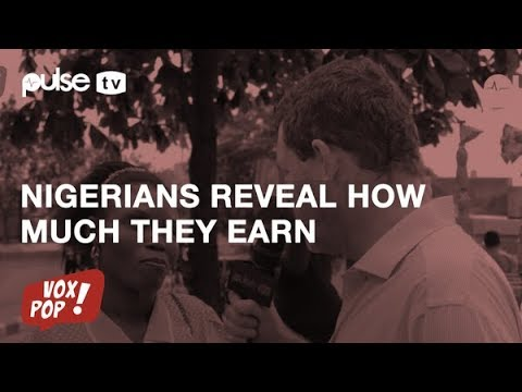 Nigerians Reveal How Much They Earn : Vox Pop with Kai Diekmann