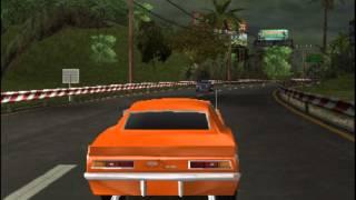 Chevrolet Camaro Wild Ride 3D Gameplay {Nintendo 3DS} {60 FPS} {1080p} Top Screen