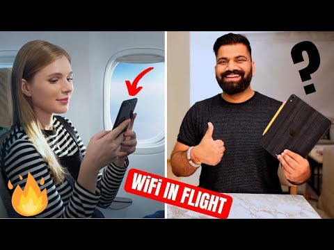 In-Flight WiFi in India - 1st Vistara Flight with In-Flight WiFi Service - WiFi Speed and Details🔥