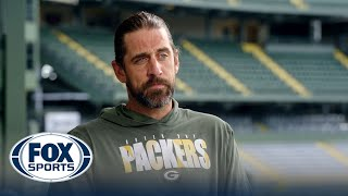Aaron Rodgers on considering retirement last offseason: '100%…it was a possibility' | NFL on FOX screenshot 3