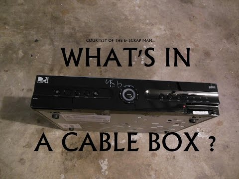 E-Waste: Scrapping a DVR cable box