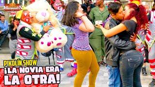 Payasos Pikolin, Kiwi, Stiff y Chicolin concurso día del Amor y de la Amistad 4K