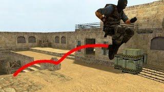 Counter Strike 1.6 Double Jump plugin | Become Mario