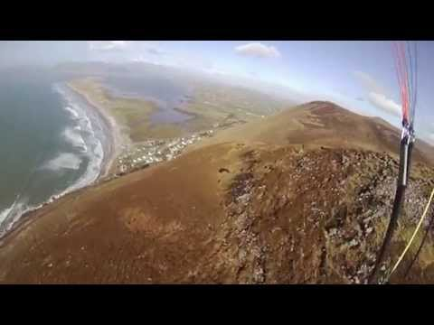 Rossbeigh Revisited, Flying My Speedwing after the Storm Damage, Speedfly Ireland