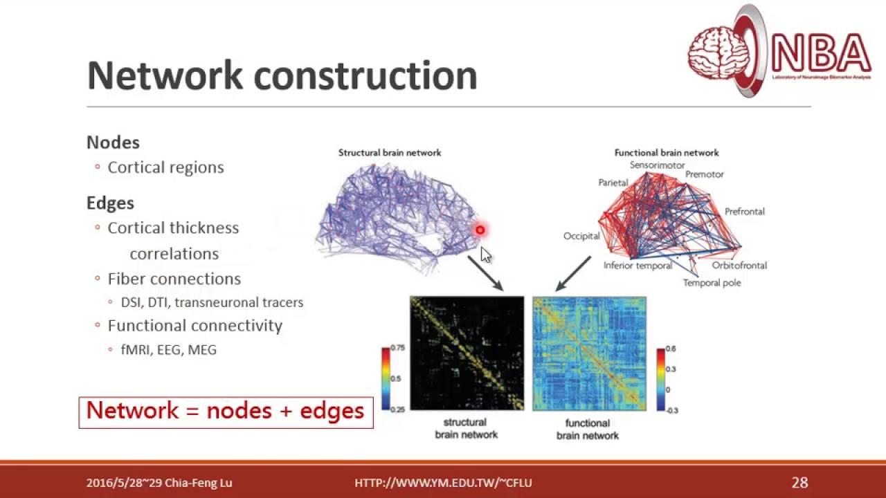 2016 5 29 進階rsfMRI分析Part6 6複雜網路分析