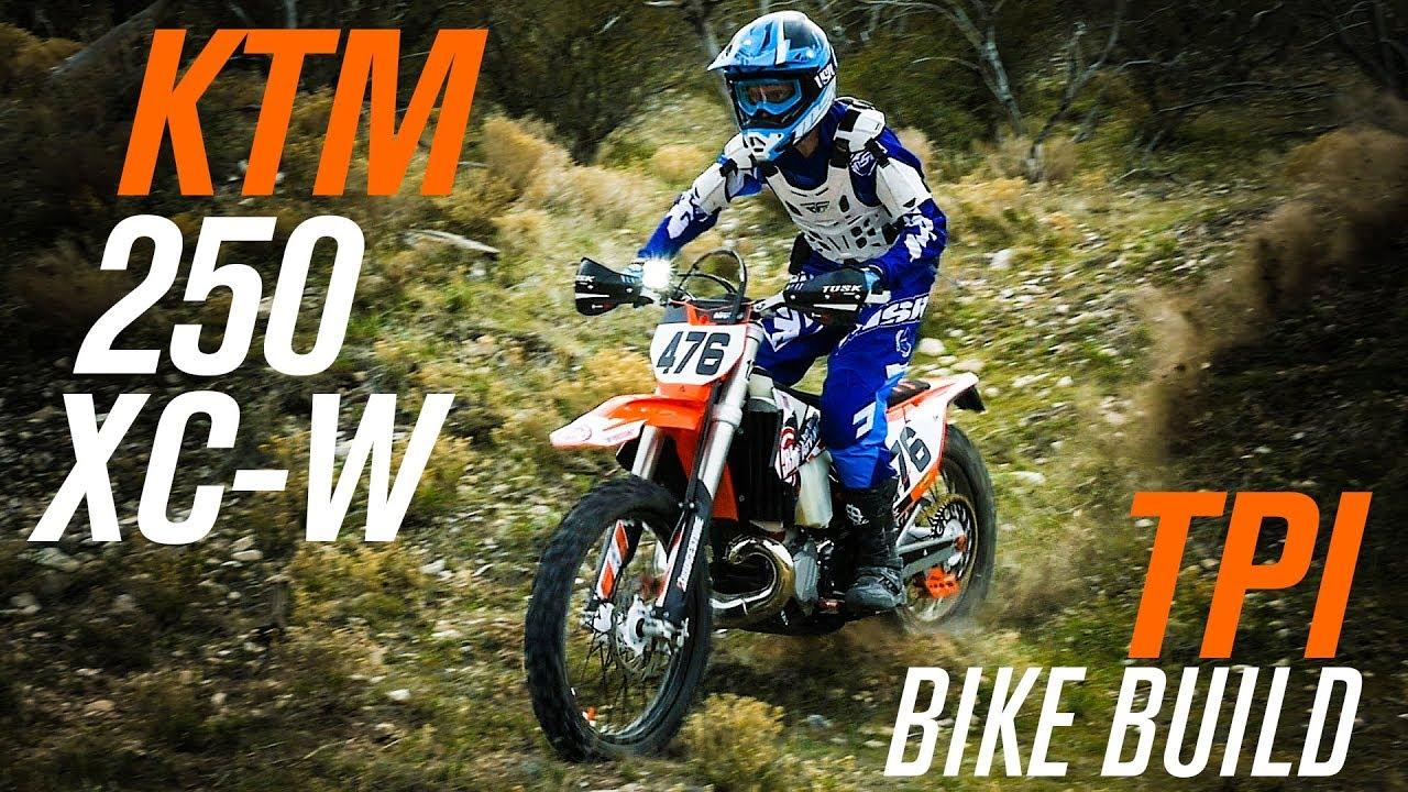 2018 KTM 250 XC-W TPI Bike Build