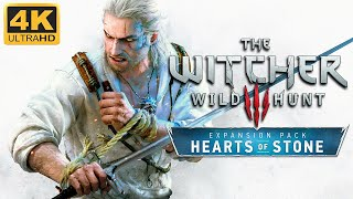The Witcher 3: Hearts of Stone - Game Movie 2020 (Death March, Ultra Modded) [4K]
