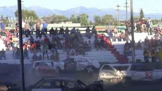 Northwest Montana Fair Demo Derby 2013 Part 2