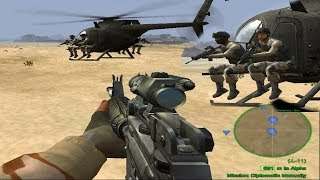 Delta Force: Black Hawk Down, Mission 9, (Diplomatic Immunity) Gameplay  HD computer games, pc games