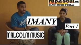 Imany // Interview // MALCOLM MUSIC (1/3) // Comoros music, German language, minorities