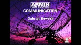 Armin Van Buuren - Communication (Gabriel Rework)[Radio Edit]