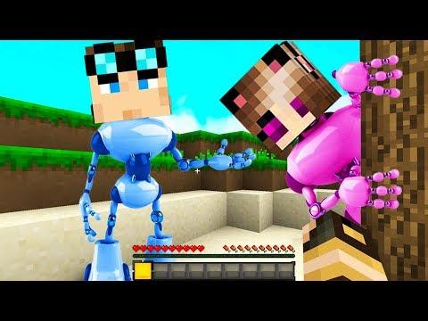 SIAMO DIVENTATI DEI ROBOT!  Casa di Minecraft #42