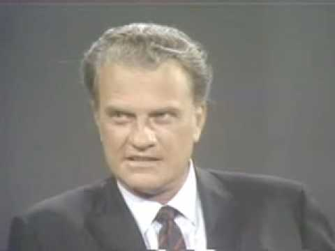 William Buckley interviews Billy Graham on the decline of Christianity on Firing Line (1969)