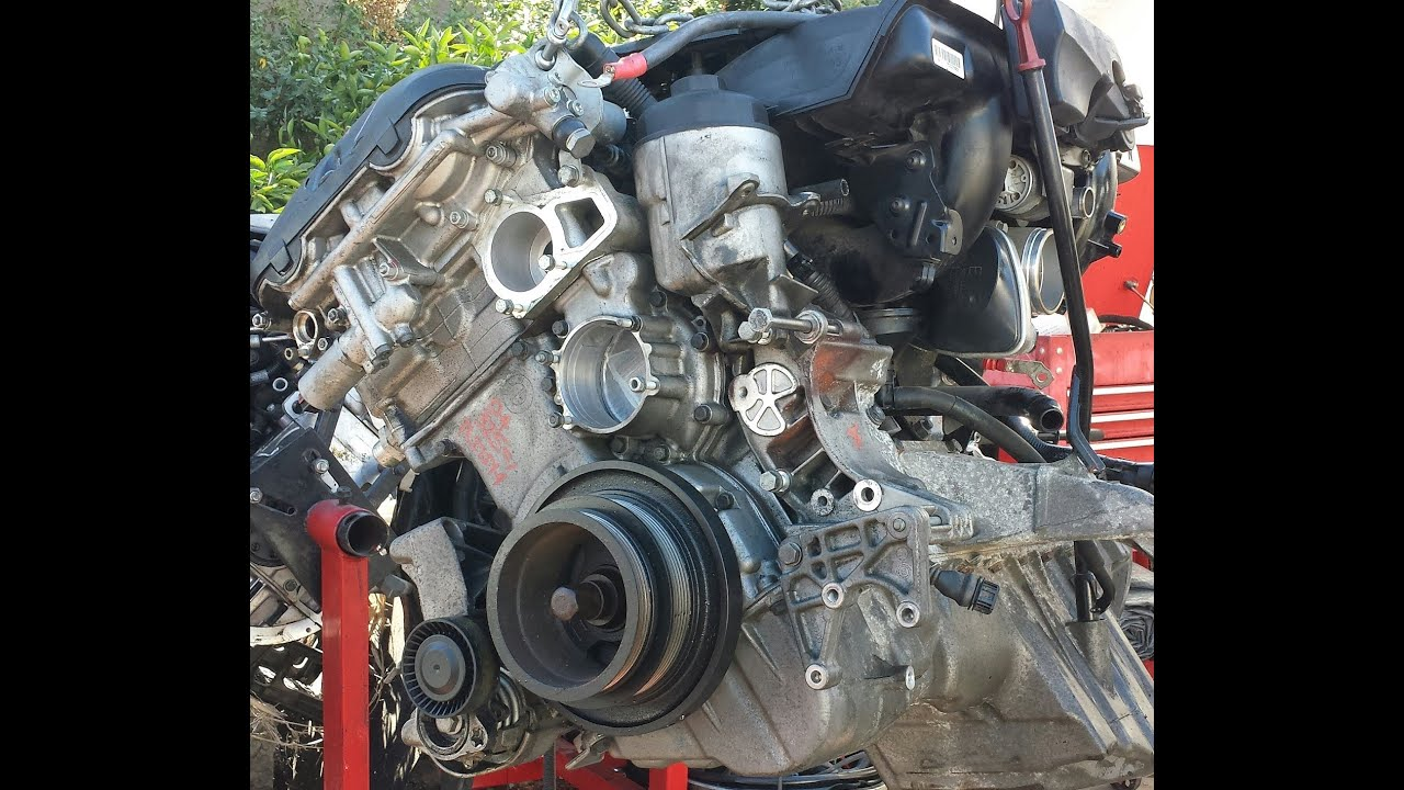 BMW M54B30 EngineSensors and Parts Diagram  YouTube