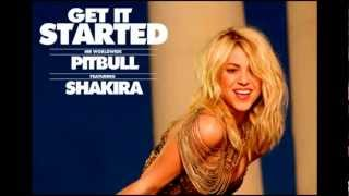Get It Started - Pitbull ft. Shakira (Deejay Derek Club Mix)