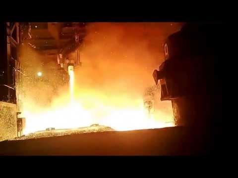 АВАРИЯ на российском металлургическом заводе 31.12.2013