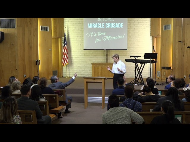 Pastor Nancy Dufresne DM Miracle Crusade Day 4 Translation