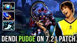 Dendi Back to Pudge Again on New Patch 7.21 - STILL BEST PUDGE IN DOTA 2?!