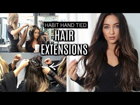 I GOT HAIR EXTENSIONS! FAQ + THE PROCESS | Stephanie Ledda
