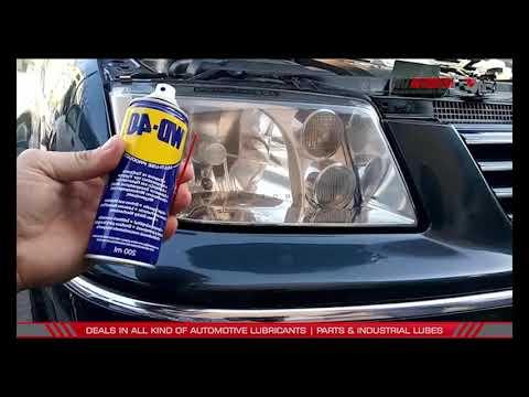 how tp clean foggy headlights of car / Tip to clean your car's foggy head filghts