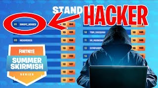 ¿HACKER GANA EL TORNEO DE FORTNITE? #SUMMERSKIRMISH FORTNITE BATTLE ROYALE