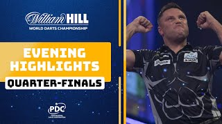 Quarter Final Highlights | Evening Session | 2019/20 World Darts Championship