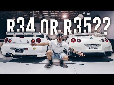 Trading My R35 GTR For A 700hp Skyline R34 GTR For A Day!