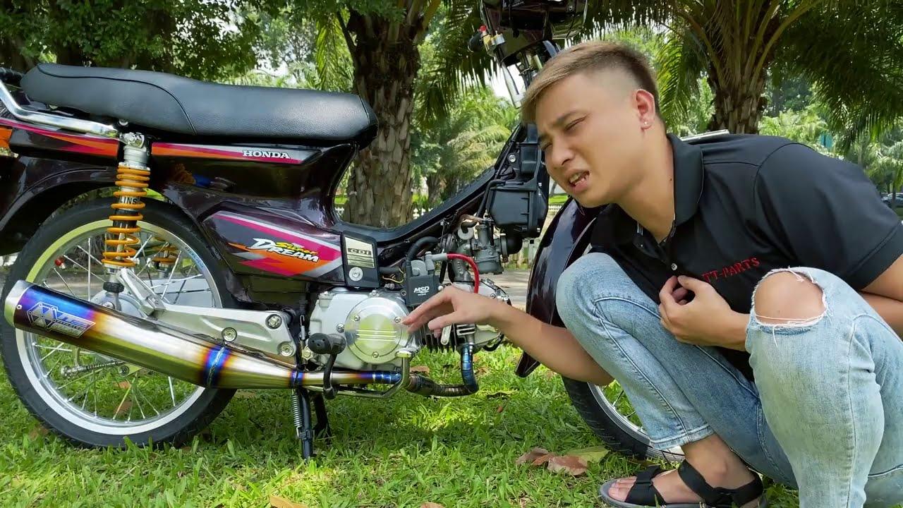 Honda Dream Độ Đơn Giản   Ken 317
