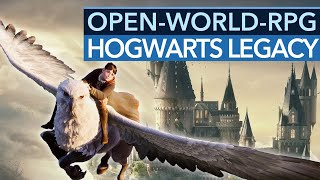 Open-World-Spiel für Harry-Potter-Fans: Hogwarts Legacy