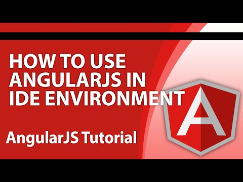 Angular Tutorials for Beginners - Part 8 - How to Use AngularJS in IDE Projects