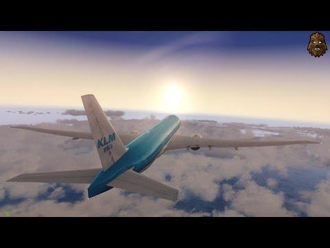 [P3D v3.4] Amsterdam (EHAM) - Dubai (OMDB) Full Flight | KLM427 PMDG 777-200LR