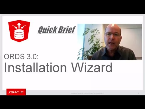 ORDS 3 0 Installation Wizard