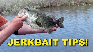 Proven Bass Fishing Jerkbait Tips With Hank Parker | Bass Fishing