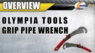 Newegg TV: OLYMPIA TOOLS Power Grip Pipe Wrench Set Overview